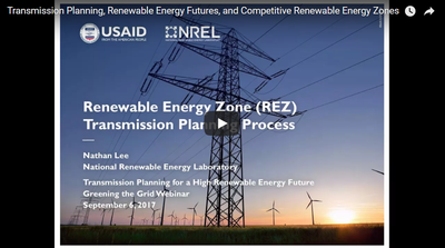 Transmission Planning for a High Renewable Energy Future: Lessons from the Texas Competitive Renewable Energy Zones Process